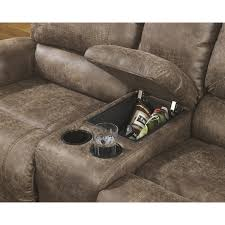 Loveseat Recliner With Console Furniture Loveseats Recliners Double Reclining Loveseat