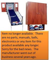 So Classic Sport X0604 Arcade Basketball Hoops Cabinet Basketball