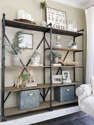 iron off the living room wood bookcase shelves display showcase flower jewelry rack shelf ikea simplified shelves clutter living rooms and room