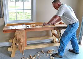 Build Woodworking Workbench Plans by Building The Moravian Workbench By Will Myers Woodworking