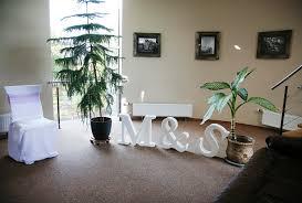 1 large foam rubber letter wedding decor initials letter decor