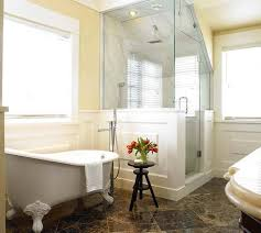 Small Bathrooms With Corner Showers Small Bathroom Designs With Clawfoot Tub Best Bathroom Decoration