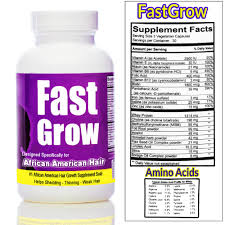 fast grow hair growth vitamins for african american women