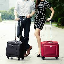 small travel bags images Online shop 16 universal wheels trolley luggage commercial small jpg