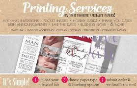 paper invitations custom invitation card envelope printing paper more
