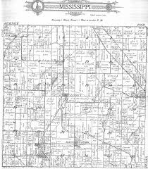 Illinois Township Map by Jersey County Illinois Plats