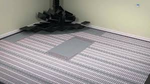 heated floor mat under desk heated floor mat bathroom radiant heating design electric rug architecture underfloor