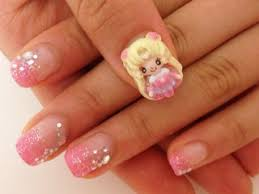 best 25 sailor moon nails ideas only on pinterest kawaii nails