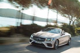2018 mercedes benz e class cabriolet revealed you can get it with