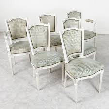 louis xvi dining chairs french metro antiques