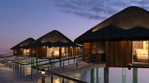 House Over Water Celebrating 50 Years Of The Overwater Villa Elite Traveler