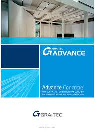 advance concrete brochure graitec pdf catalogues