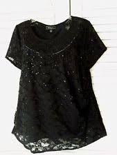 Dress Barn Collection Dressbarn Evening Occasion Plus Tops U0026 Blouses For Women Ebay