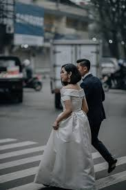 wedding dress bandung a playful pre wedding shoot on the streets of bandung bridestory
