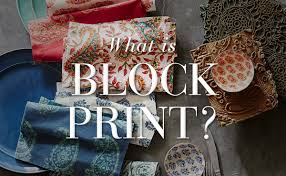 trending now what is block print pottery barn