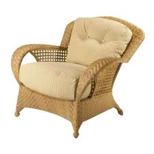 wicker chair cushions in vintage design