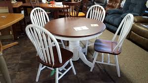 wc4260ped table with wcj5300 chairs furniture store bangor