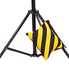 studio light boom stand 1pcs canvas double photo studio counter balance weight sandbags for