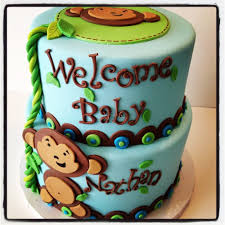 monkey baby shower cake monkey baby shower cake yelp