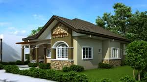 Bungalows Floor Plans by House Designs And Floor Plans Philippines Bungalow Type Youtube