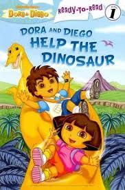 dora diego dinosaur lara bergen 9781442414006