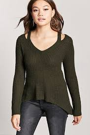 olive sweater forever21