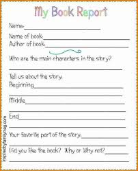 2nd grade book report template 2nd grade book report exle professional and high quality