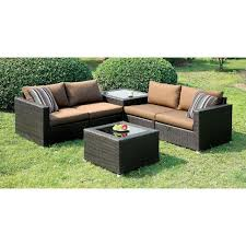 Las Vegas Outdoor Furniture by Furniture Of America Alago Outdoor Sofa Set Las Vegas Furniture