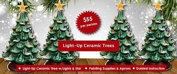 ceramic light up christmas tree corks pottery light up christmas tree valenzano wine