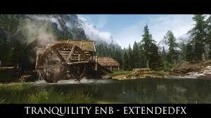 tranquility tes v skyrim mods tranquility enb extendedfx youtube