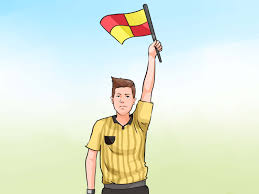Penalty Flag Football How To Understand Soccer Assistant Referee Signals 7 Steps