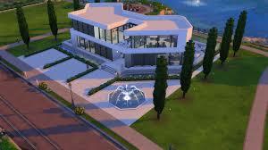 modern mansion mod the sims ultra modern mansion no cc