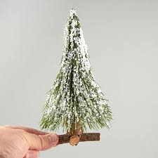 small frosted needle artificial pine tree trees