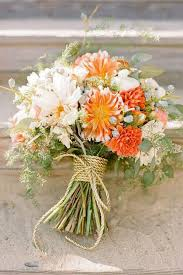 rustic wedding bouquets best 20 orange wedding bouquets ideas on no signup
