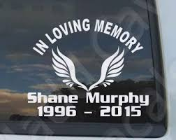in loving memory items memory car decal etsy