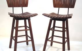 bar stunning swivel bar stools for kitchen island brown wooden
