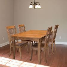 hardwood dining room furniture walker edison furniture company millwright 6 piece antique brown