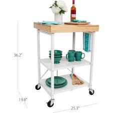3 shelf kitchen cart