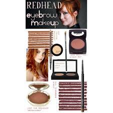 redhead eyebrow makeup bc084f1903107c8531e9a5c6ef116330