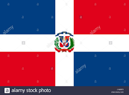 Domenican Flag Dominican Republic Stock Vector Images Alamy