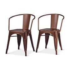 Metal Leg Dining Chairs Carlisle Metal Dining Chair Threshold Target