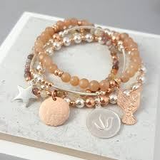 silver gold bracelet images Adore 39 silver and rose gold bracelet stack by essentia by love jpg