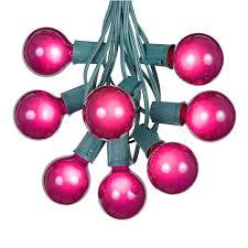 globe shaped outdoor g50 light string sets novelty lights inc