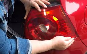 how to replace a vw rabbit tail light brake light bulb youtube