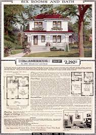 sears homes floor plans americus 1923 sears kit homes artistic eclectic craftsman