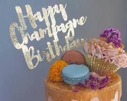 champagne birthday etsy