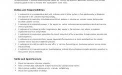 Customer Service Description For Resume Free Resume Critique Service Resume Template And Professional Resume