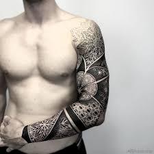 geometric patterns mens sleeve best design ideas