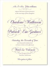 plantable wedding invitations plantable wedding invitations reception by