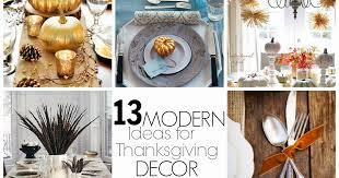 crafty 13 ideas for modern thanksgiving decor
